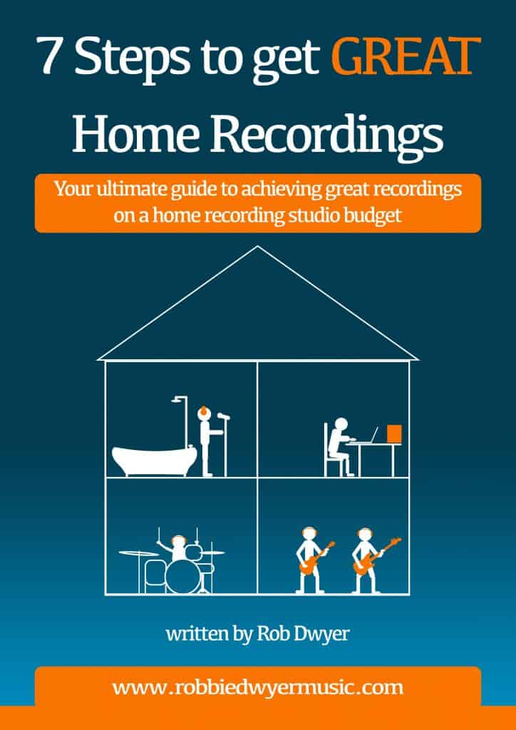 This eBook guides you through the necessary processes to help you achieve GREAT sounding home recordings, without having to spend fortunes on new equipment.